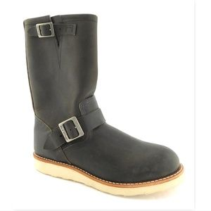 New RED WING Charcoal Men's Engineer Work Boot 8.5